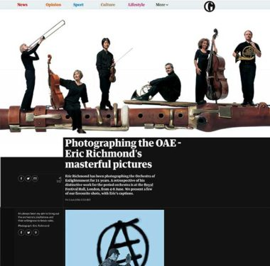 Guardian – Photographing the OAE